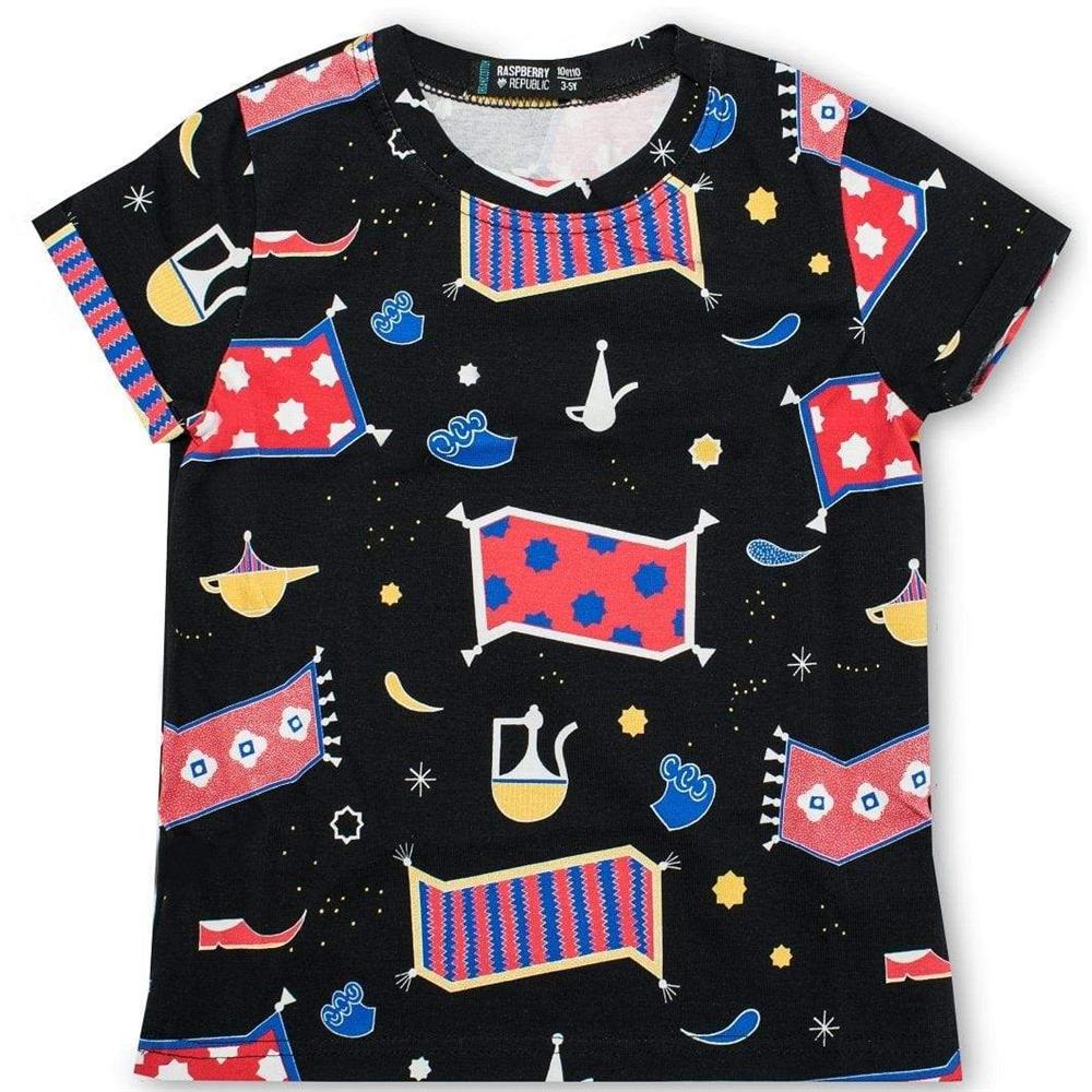 Majica kratkih rukava sa motivom Aladinove čarobne lampe od organskog pamuka-uniseks