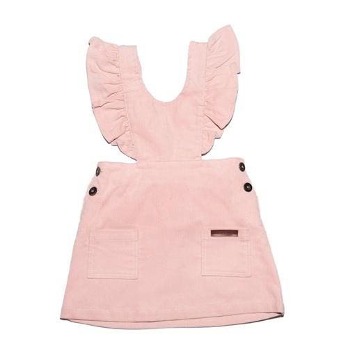 Pink somotna haljinica na tregere