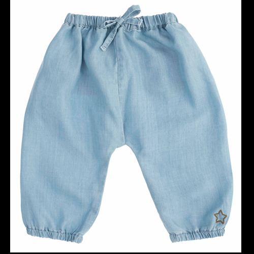 Unisex pantalone od laganog, tankog liocela  za leto