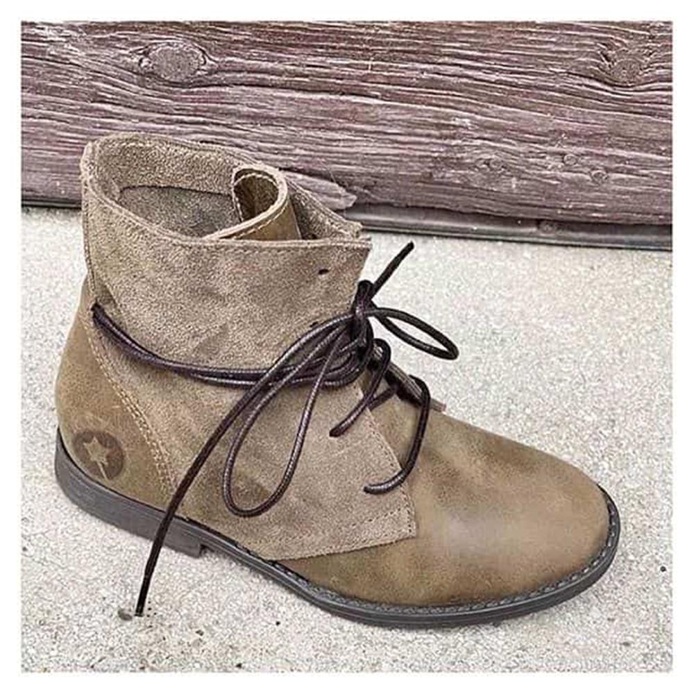 Kožne braon duboke cipele za devojčice