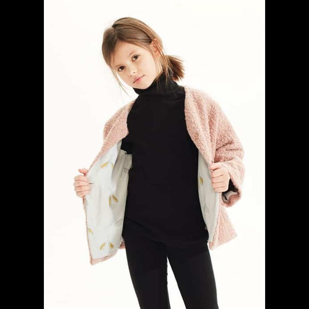 Bukle jaknica kratka nežno roze boje za devojčice-POSLEDNJI KOMAD