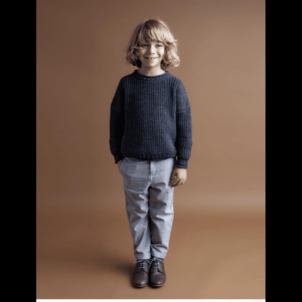 Pantalone karirane za dečake