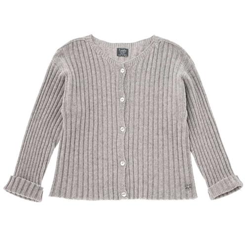 Džemper na kopčanje sive boje unisex