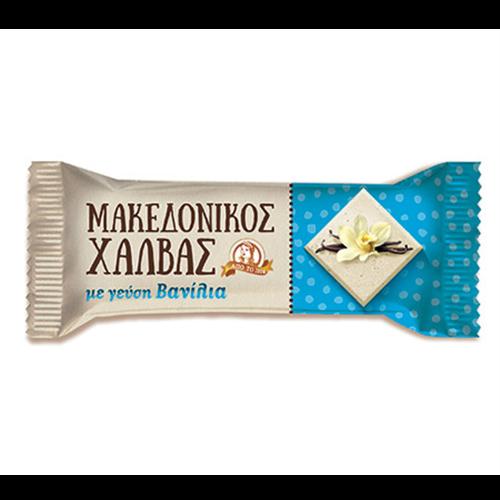 Tahan Halva bar vanila Makedonikos 40gr