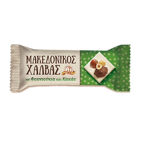 Tahan Halva bar kakao i lešnik Makedonikos 40gr