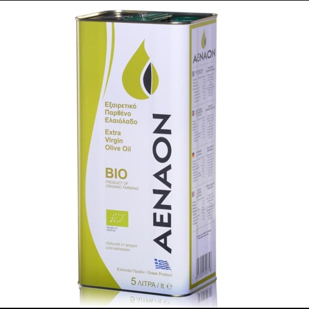 Maslinovo ulje ekstra devičansko Aenaon BIO 5l