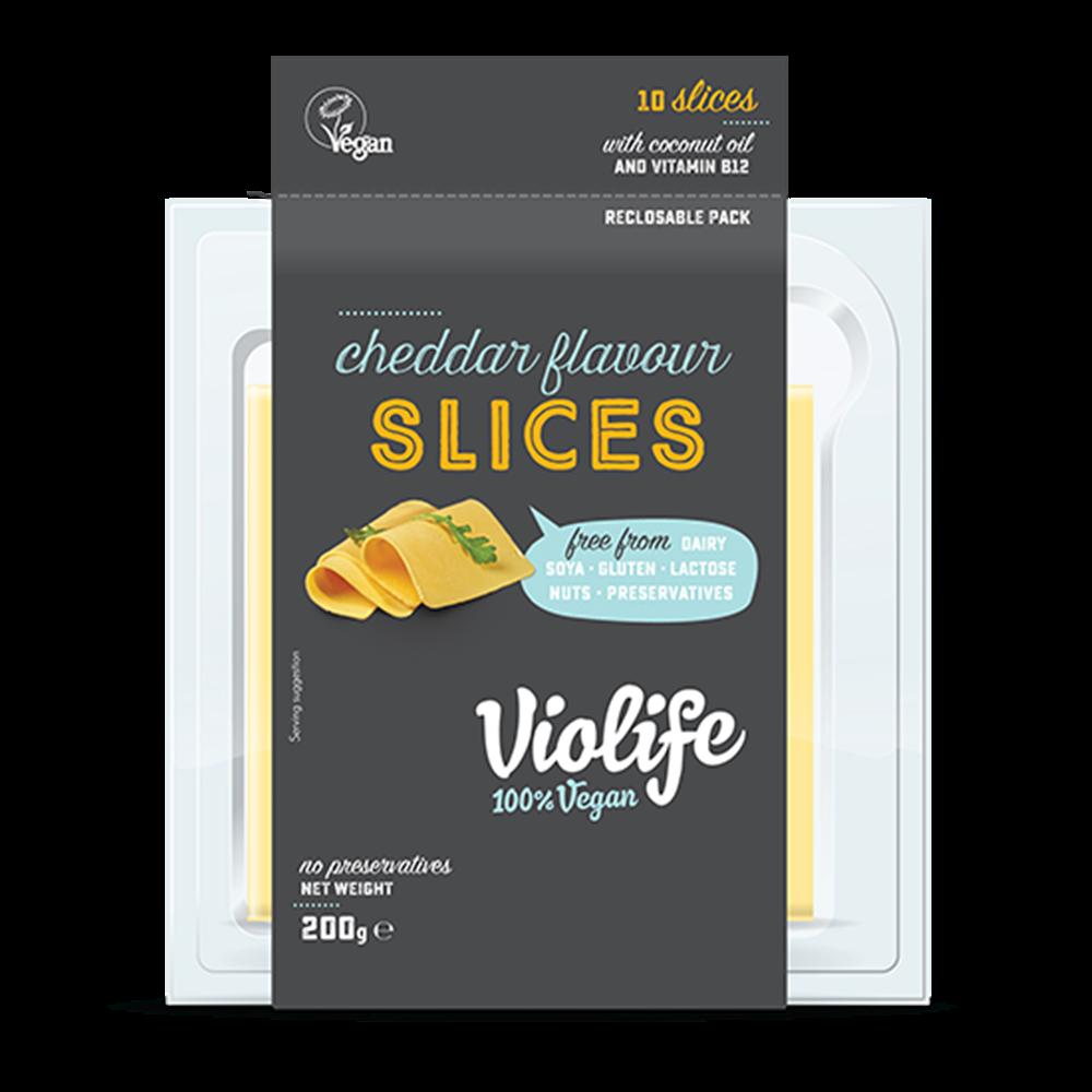 Biljni sir u listićima čedar Violife 140gr
