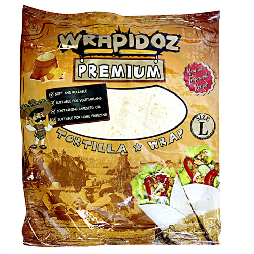 Tortilja pšenična Wrapidoz 370gr