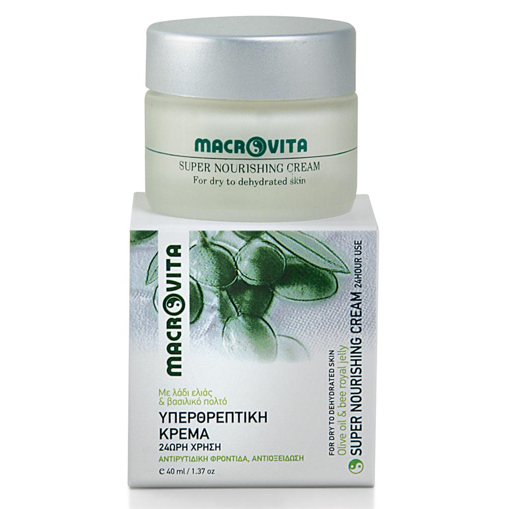 Super hranjiva krema za lice (za suvu i dehidriranu kožu) Macrovita 40ml