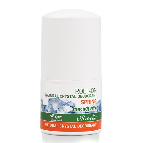 Prirodni kristalni dezodorans Roll-on Spring Macrovita 50ml
