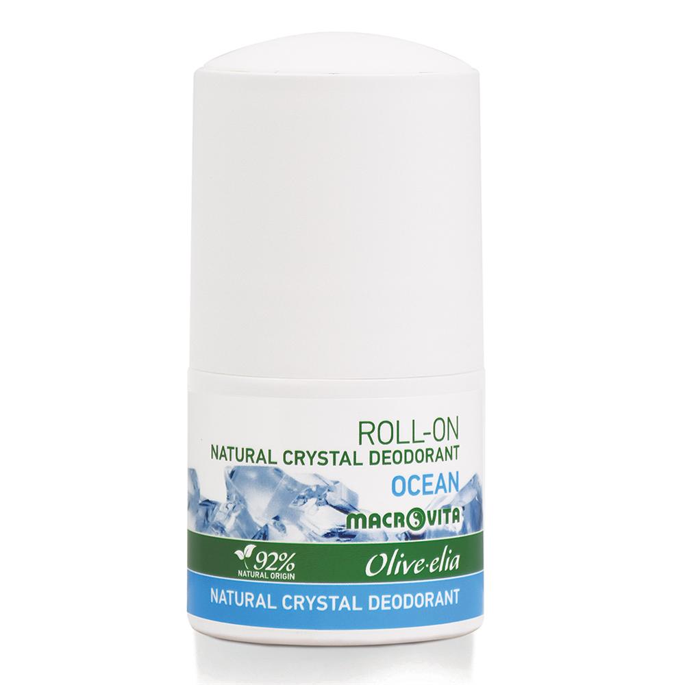 Prirodni kristalni dezodorans Roll-on Ocean Macrovita 50ml