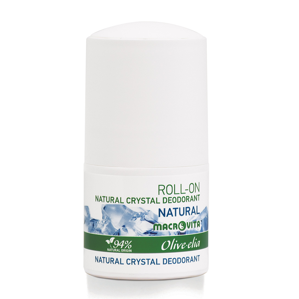 Prirodni kristalni dezodorans Roll-on Natural Macrovita 50ml