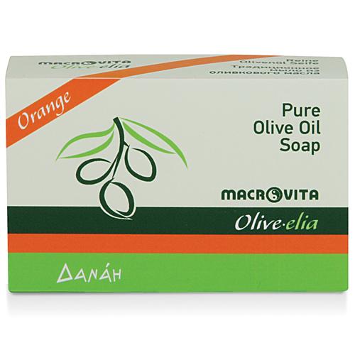 Prirodni sapun od maslinovog ulja sa pomorandžom Macrovita 100gr