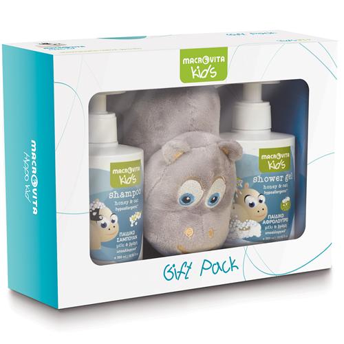 Gift Pack 2+1 sa igračkom za decu Macrovita