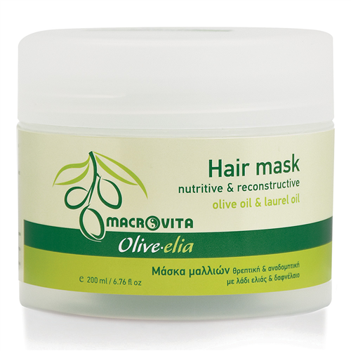 Maska za kosu sa maslinovim i lovorovim uljem Macrovita 200ml
