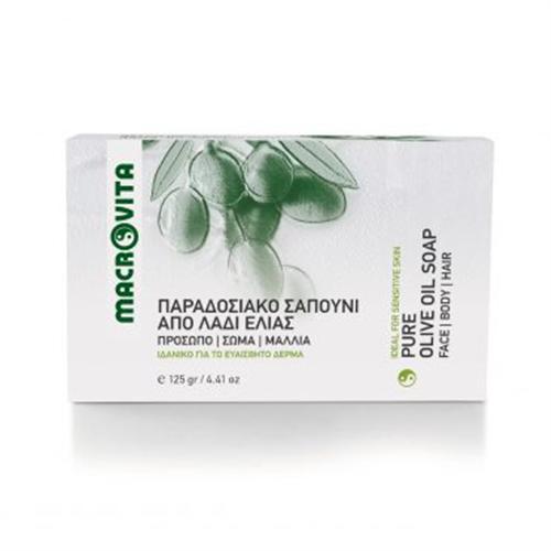Prirodni sapun od organskog maslinovog ulja Macrovita 125gr