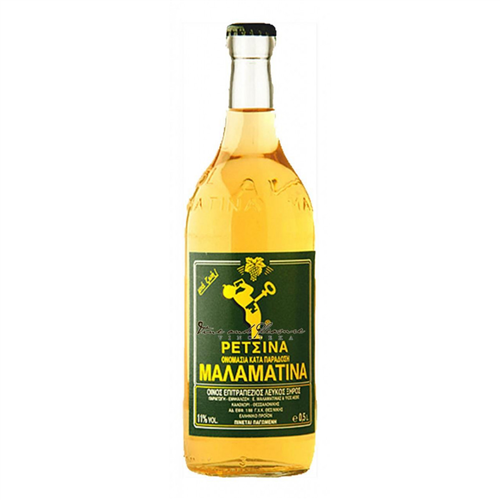 Retsina belo vino Malamatina 0,5l