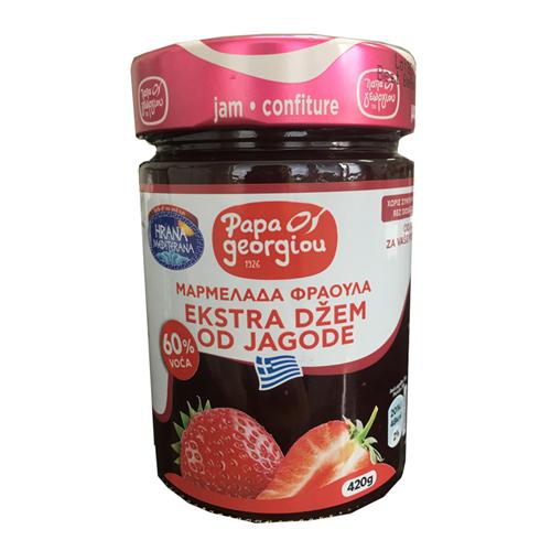 Džem od jagoda Papageorgiou 420gr