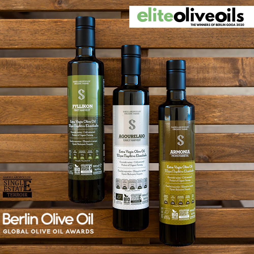 Premium maslinovo ulje ekstra devičansko Agourelaio - rana berba 0,5l