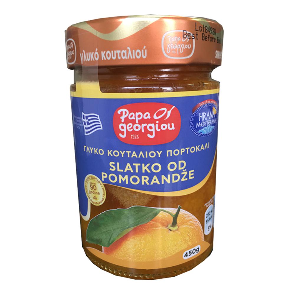 Slatko od pomorandže Papageorgiou 450gr