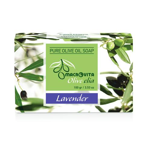 Prirodni sapun od maslinovog ulja sa lavandom Macrovita OliveElia100gr