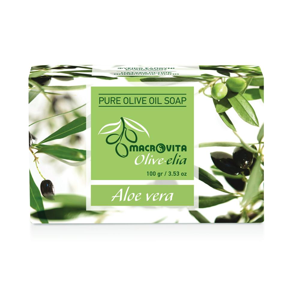 Prirodni sapun od maslinovog ulja Aloe Vera Macrovita OliveElia 100gr