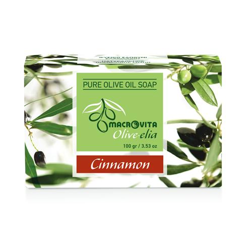 Prirodni sapun od maslinovog ulja sa cimetom Macrovita OliveElia 100gr