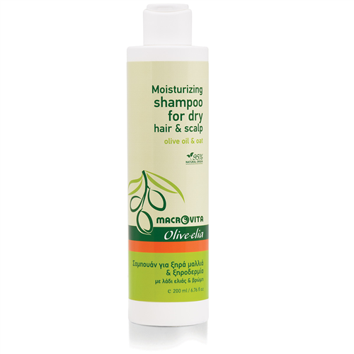 Prirodni šampon za suvu kosu i teme Macrovita 200ml