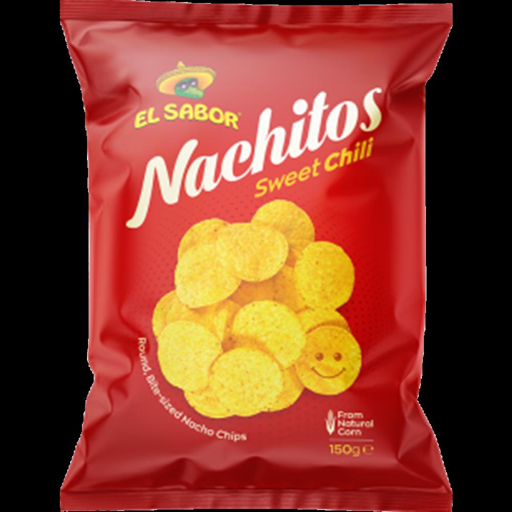 Tortilja čips nachitos sa ukusom čili paprike, El Sabor 150gr