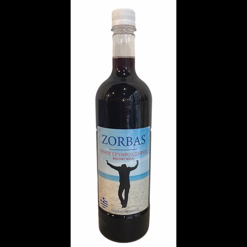 Zorbas domaće crveno vino sa Peloponeza 1l