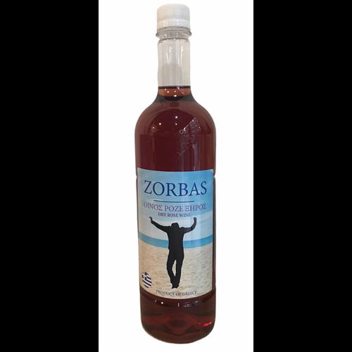 Zorbas domaće rose vino sa Peloponeza 1l