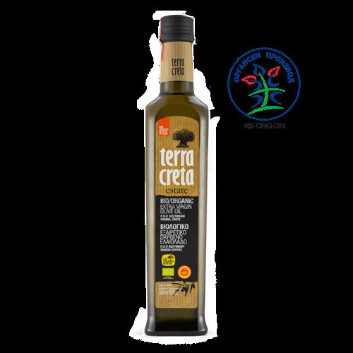 Maslinovo ulje ekstra devičansko Terra Creta BIO 500ml