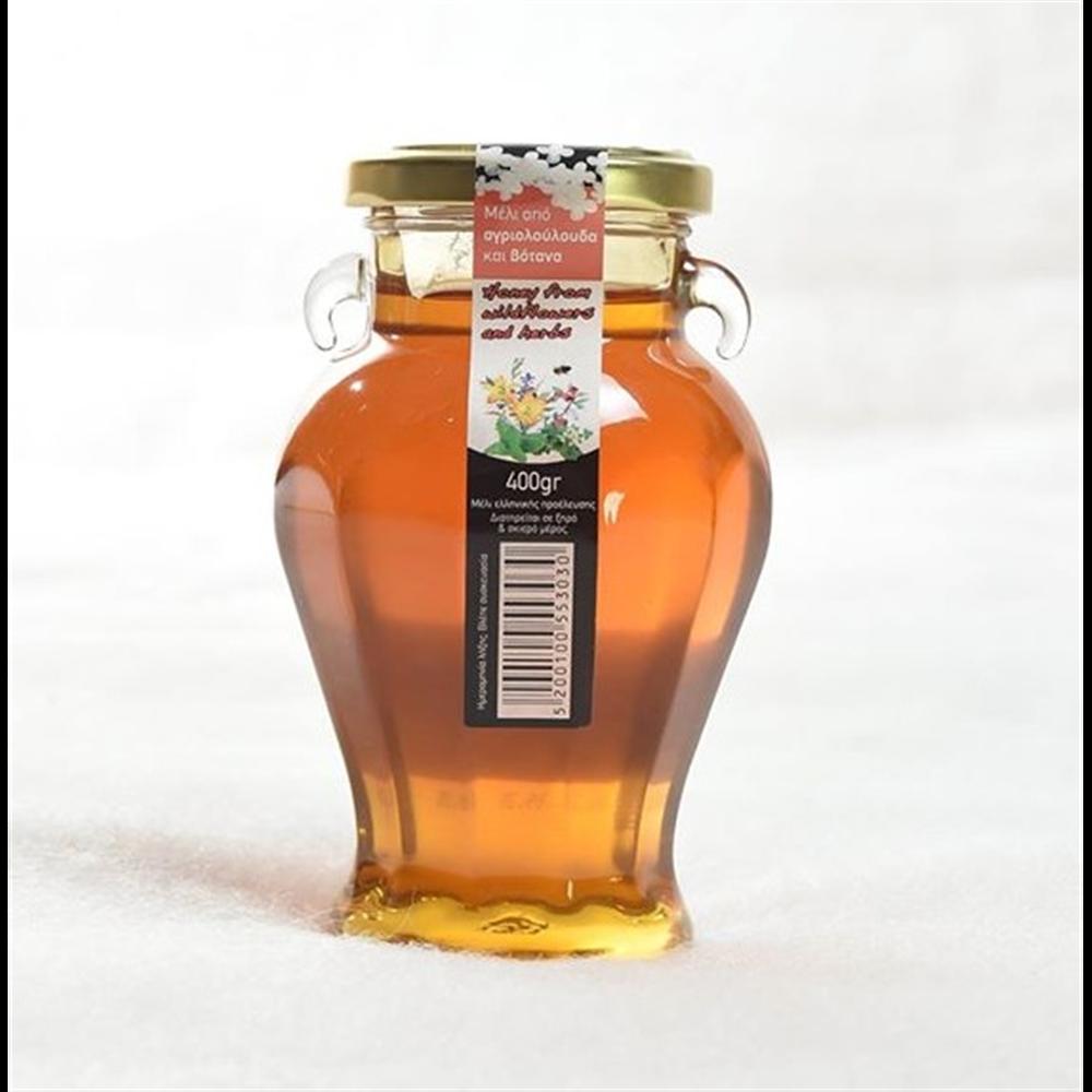 Cvetni vrcani med sa Peloponeza 400gr