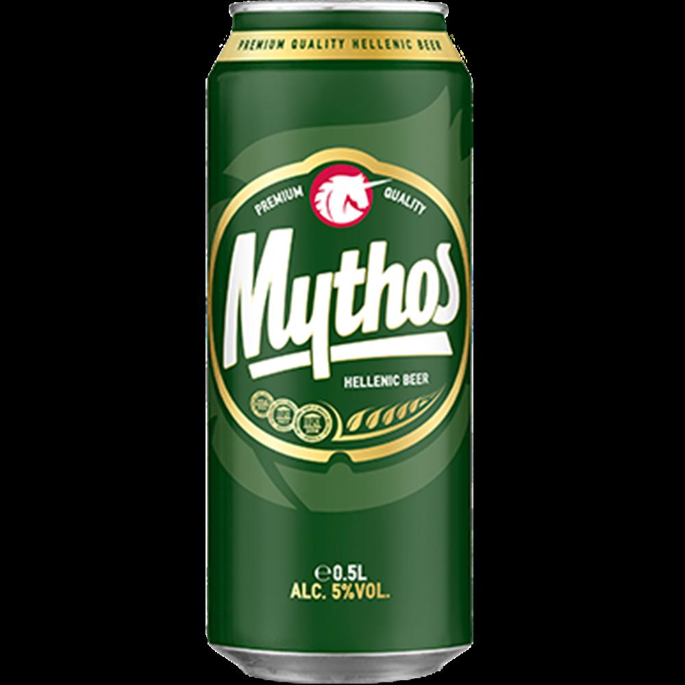 Pivo Mythos limenka 0,5l
