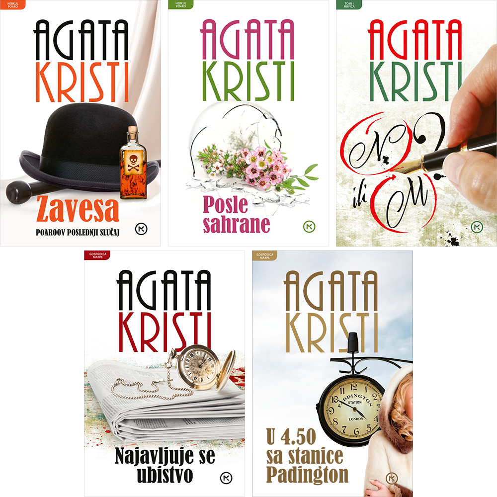 Agata Kristi - 5 naslova po Vašem izboru