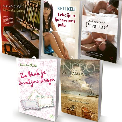 KOMPLET 5 Ljubavnih romana