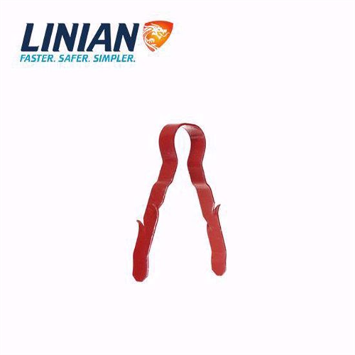 Linian Fire Clip Single Red 6-8mm
