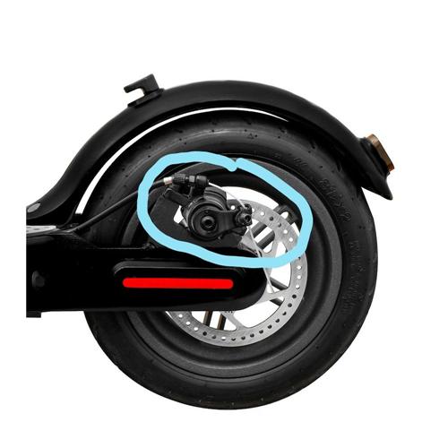 RING set za kočnicu zadnjeg točka električnog trotineta RX1 i RX2