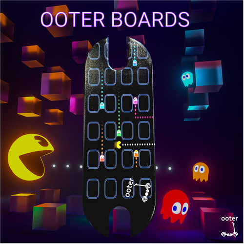 Pacman daska za trotinet. Xiaomim365, Ring