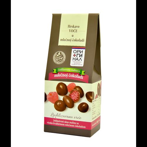 Ariljska malina čokoladirana mlečna 80 g