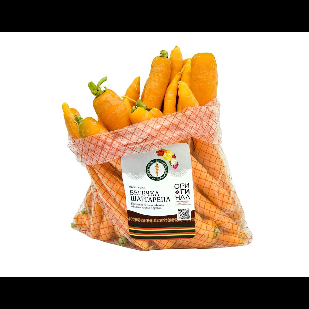 Begečka šargarepa 1 kg