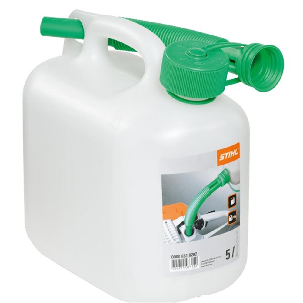 Benzinski kanister 5 l transparentan