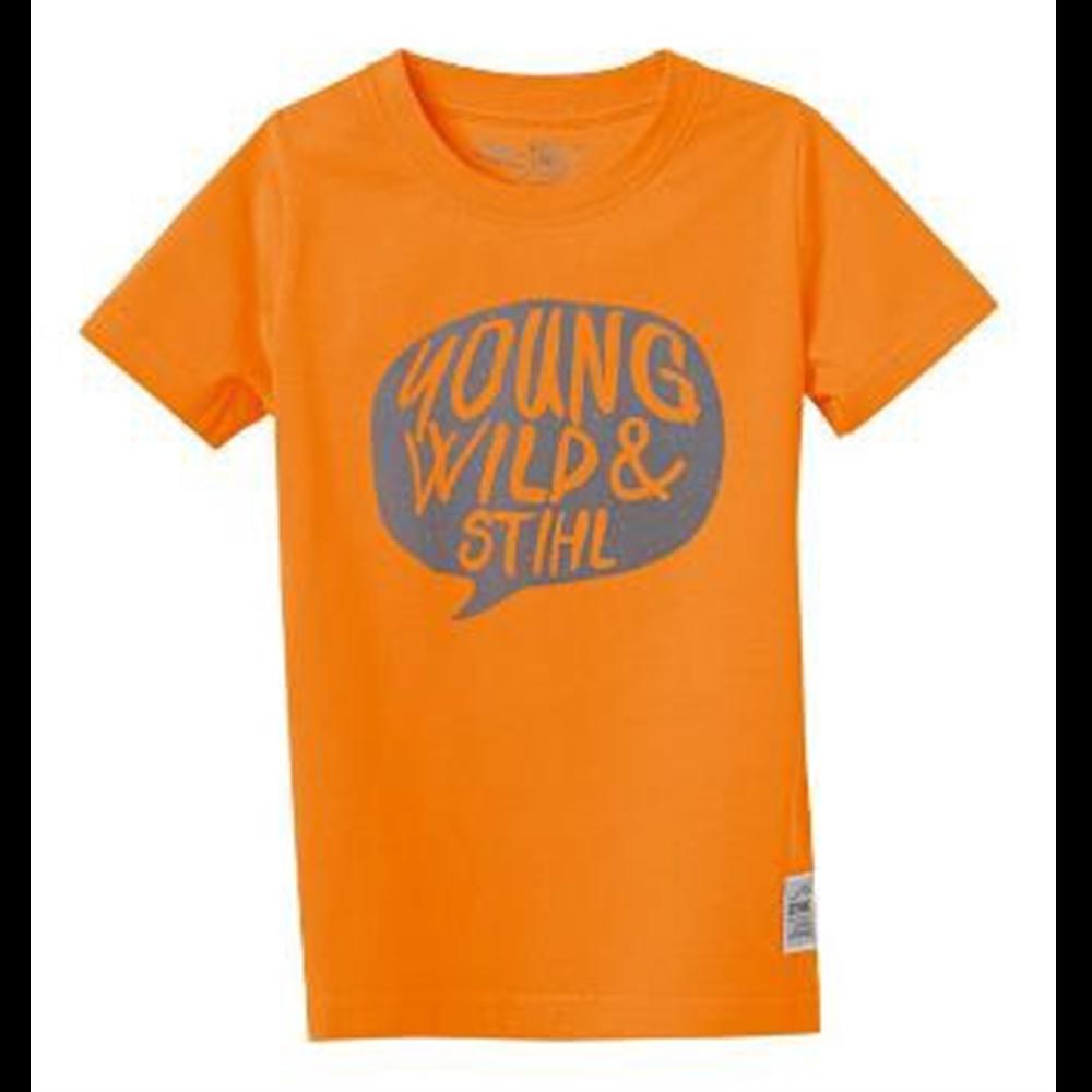 Majica Young Wild narandžasta