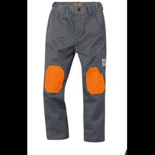 Pantalone sa pojasom dečije sive