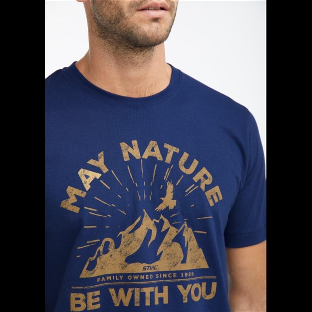 Majica May Nature Teget  za muškarce