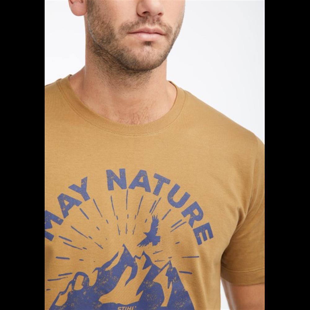 Majica May Nature svetlo braon za muškarce