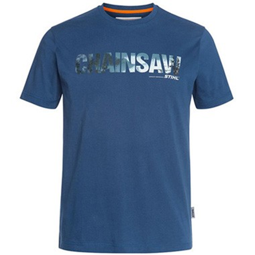 Majica motorna testera plava za muškarce