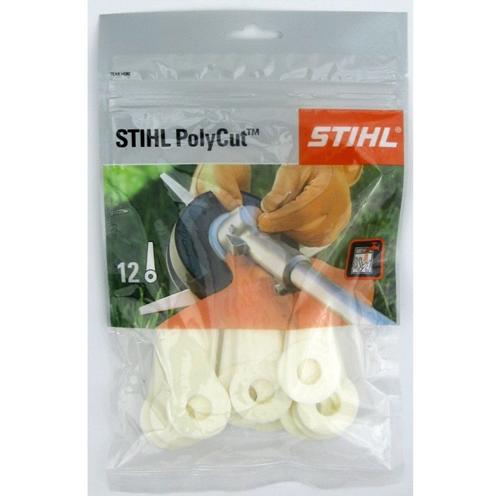Komplet plasticni nožići za Poly cut 12 kom za poly cut 6-3