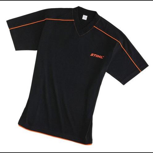 Majica crna V izrez za muškarce