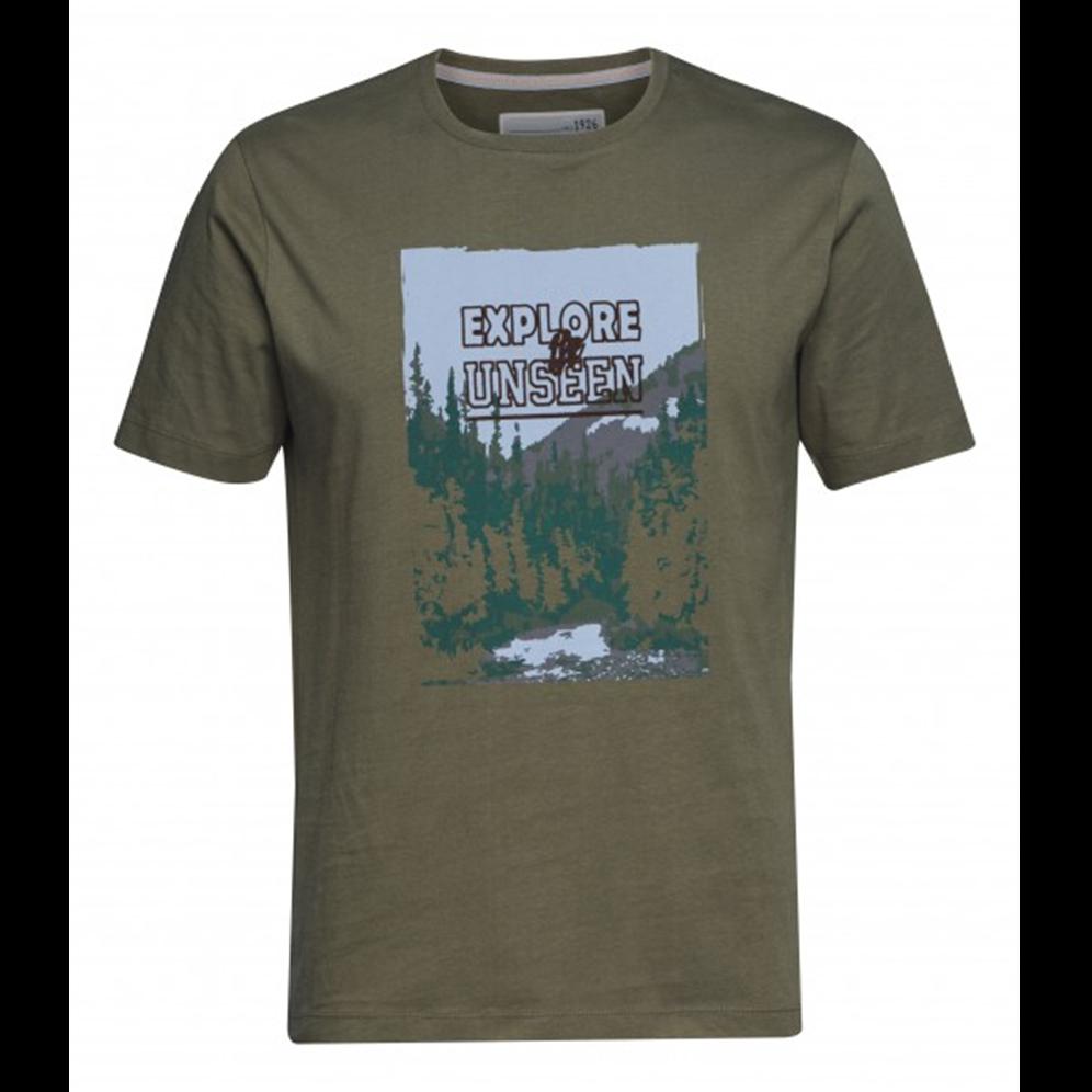 Majica explore zelena za muškarce